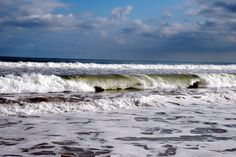 Waves on North Topsail Beach, NC