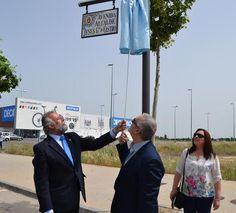 El ex alcalde Jesús García de Castro ya tiene una calle con su nombre - 45600mgzn