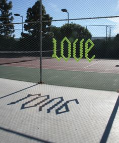 isn't love a bad thing in tennis though?  doesn't it mean you're losing...?