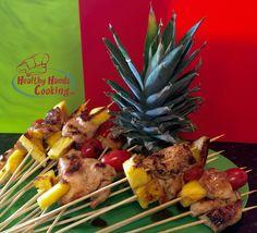 Tropical Teriyaki Chicken Sticks