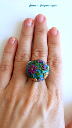 anello Tanja #fimo #handmade
