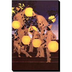 Items similar to Maxfield Parrish, The Lantern Bearers, about art deco era srt, canvas art print. antique art prints on Etsy Maxfield Parrish, Pintura Exterior, Art Deco Era, Selling Art, Antique Art, American Art, Les Oeuvres, Canvas Art Prints, Art History