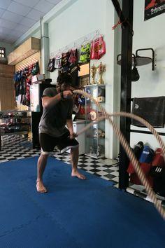 Conditioning work at Combat 360X Muay Thai, MMA and Fitness camp in Khao Lak, Thailand #mma #muaythai #crossfit #gym #training #fitness #wod #phuket #khaolak #thailand