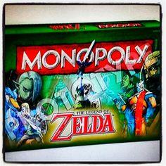 #monopoly de #zelda llegara este verano. Visita nuestro blog http://boardgamescave.wordpress.com