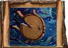 Buy THE BARK FISH - ( framed ), Mixed Media painting by Carlo Salomoni on Artfinder. Discover thousands of other original paintings, prints, sculptures and photography from independent artists.