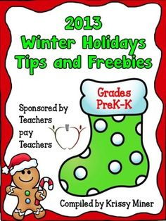 Winter Holidays Tips and Freebies 2013 - PK - 12