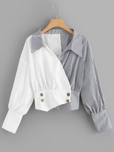 Shop [good_name] at ROMWE, discover more fashion styles online. Girls Fashion Clothes, Teen Fashion Outfits, Mode Outfits, Fashion Pants, Trendy Fashion, Fashion Styles, Crop Top Outfits, Cute Casual Outfits, Stylish Outfits