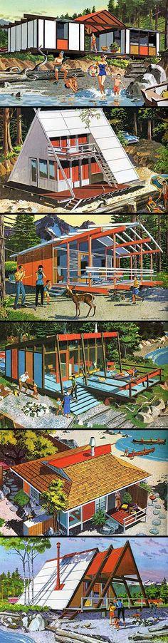 Mid Century Modern House Plans | ... Home Plans, via grainedit.com/2009/05/25/mid-century-modern-home-plans