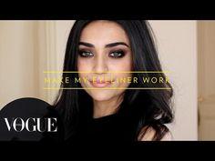 5 Different Eyeliner Looks | Vogue Beauty Goals with Lizah ● Makeup Tutorial | VOGUE India - YouTube