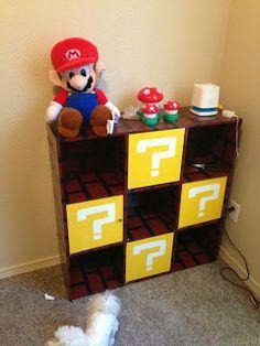 Super Mario Game Storage