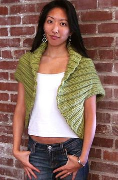 Fabulous shrug to knit