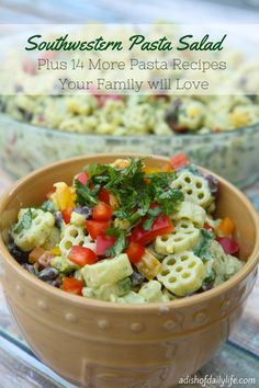 15 Pasta Recipes Your Family will Love | A Dish of Daily Life