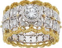 Estate Jewelry:Rings, Diamond, Gold Ring, Buccellati. ...