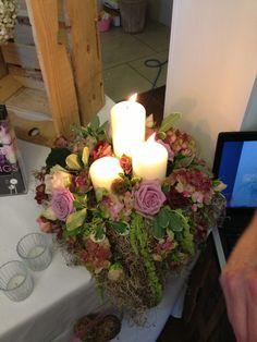 candle centre piece