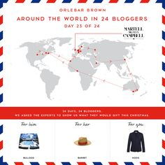 Around The World With Orlebar Brown