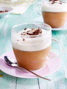 Gut gekühlt am allerbesten: Geeister Cappuccino