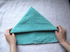 a little of this...: Hooded Towel Tutorial