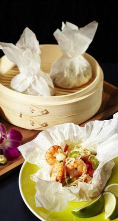 Sweet-and-Sour Giant Prawns Thai Style Thai Style, Fish Dishes, Prawn, Cheese, Saga, Sweet, Dairy, Food, Pineapple