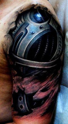 terminator arm tattoo best 3d tattoo ideas pinterest terminator arm arm tattoo and tattoo. Black Bedroom Furniture Sets. Home Design Ideas