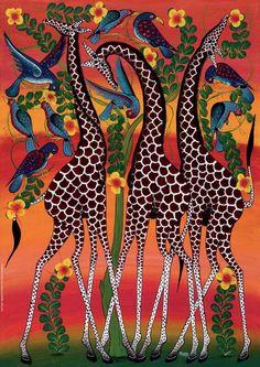 Tinga Tinga, Giraffes