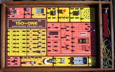 150-in-One Electronics Kit from Radio Shack:  yes, I had one as a kid!  Loved it.