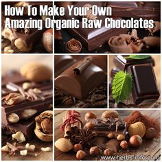 How To Make Your Own Amazing Organic Raw Chocolates - Herbs Info