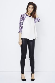 Rebecca Minkoff - Candace Top. My kind of outfit!