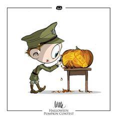 Little Hiddles Nichols Halloween