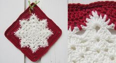 Le #flocon de #neige au #crochet                                                                                                                                                                                 Plus