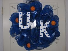 University of KY Basketball wreath
