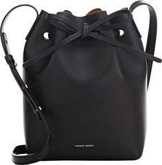 Mansur Gavriel Mini Bucket Bag-Black