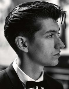 Alex Turner from the Arctic Monkeys #dapper #arcticmonkeys