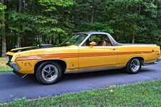 1971-Ford-Ranchero-GT Maintenance/restoration of old/vintage vehicles: the material for new cogs/casters/gears/pads could be cast polyamide which I (Cast polyamide) can produce. My contact: tatjana.alic@windowslive.com