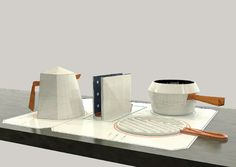stone conceptual kitchen appliances by angry_bananas