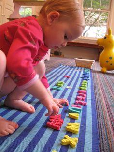 """""""Montessori Lite"""" When You Don't Have Montessori Stuff from Montessori Messy"""