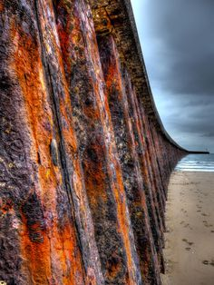 To the sea…in rust
