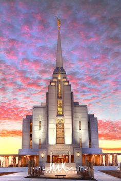 Um, can you say AMAZING website for LDS temple pictures? Wow!   Megan Kelly, Rexburg Temple, LDS, Mormon, Print, Sunset, HDR, Unique, Amazing