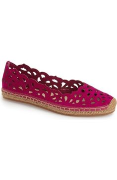 Via Spiga 'Bellerose' Cutout Espadrille (Women) available at #Nordstrom