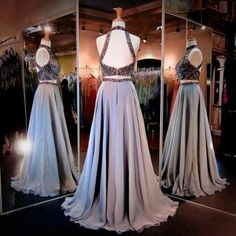 A-Line Prom Dresses Women's Halter ..