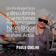 PC Frases Coaching, Mirrored Sunglasses, Mens Sunglasses, Wayfarer, Quotes, Style, Twitter, Paulo Coelho, Words