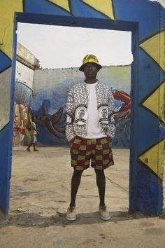 YEVU clothing from Ghana, mens fashion