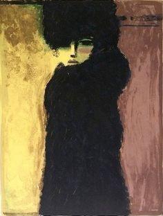 Kees van Dongen, La Dame en Noir on ArtStack #kees-van-dongen #art