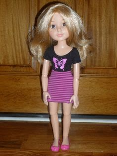 "18"" MGA BFC Ink Best Friends Club Pen Pal Doll Nicolette from France Rare HTF #Dolls"
