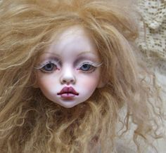 BJD Ball Jointed Doll DIM Larina Head Lily Rose Faceup