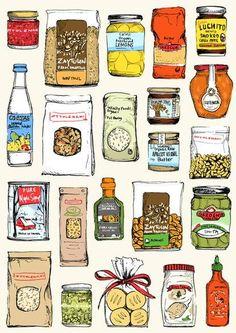 Pantry Ingredients vis may van millingen