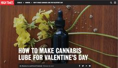 Chef Scott and I had the opportunity to work with High Timesto develop  some lovely infused lube and massage oil recipes for Valentines.To do  that, we turned to our favorite infusion technique: sous vide. This means  placing decarbed cannabis, fat and aromatics in a zip-sealed bag and  cookin