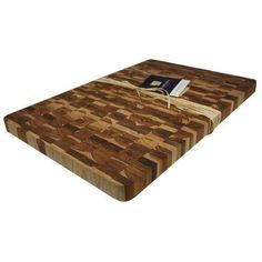 Madeira Canary Teak Endgrain Chop Block Jumbo >>> To view further for this item, visit the image link.