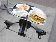 Drone waiters set to be trialled in Sydney after success in Asia and UK