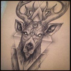 When a costumer refuse your work… #vlad #biella #deer #demon #dark #pencil #illuminati #illuminate #piramid #piramide #kvlt #occultism #occult #occultart #occultist #cultist #satan #satanicpride #horns #cervo #demone #eyeless #oneeye #piramideye #gothic #gothicart