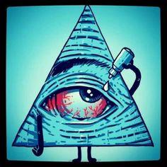 O olho que tudo ver..